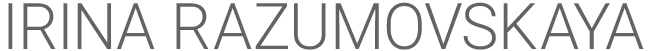 IRINA RAZUMOVSKAYA Logo